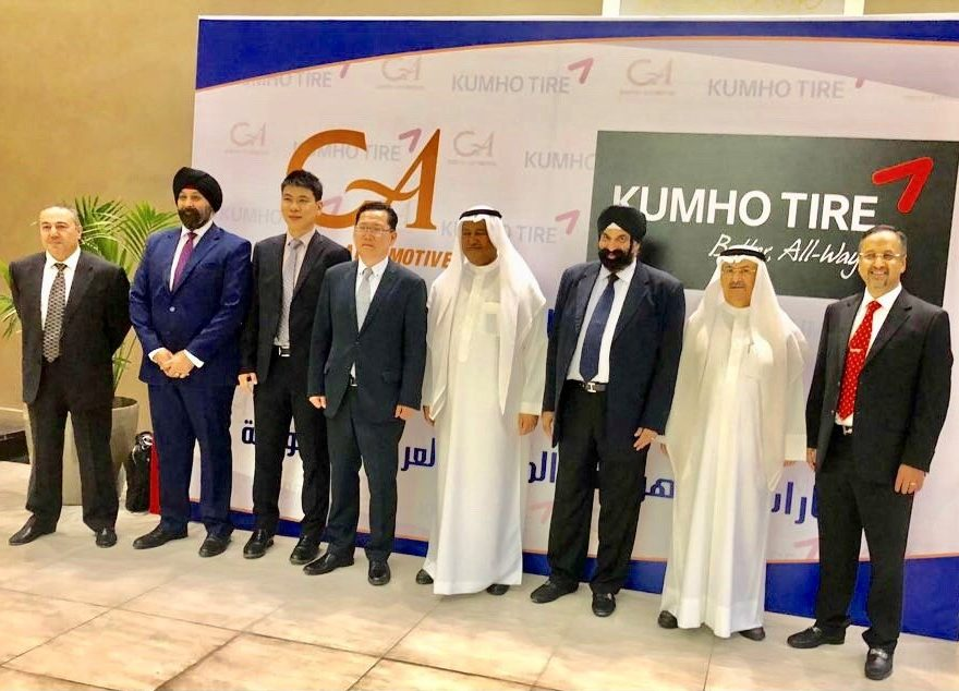 General Automotive Distributes Kumho in Saudi Arabia